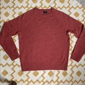 J Crew 100% Lambs Wool Crewneck Sweater